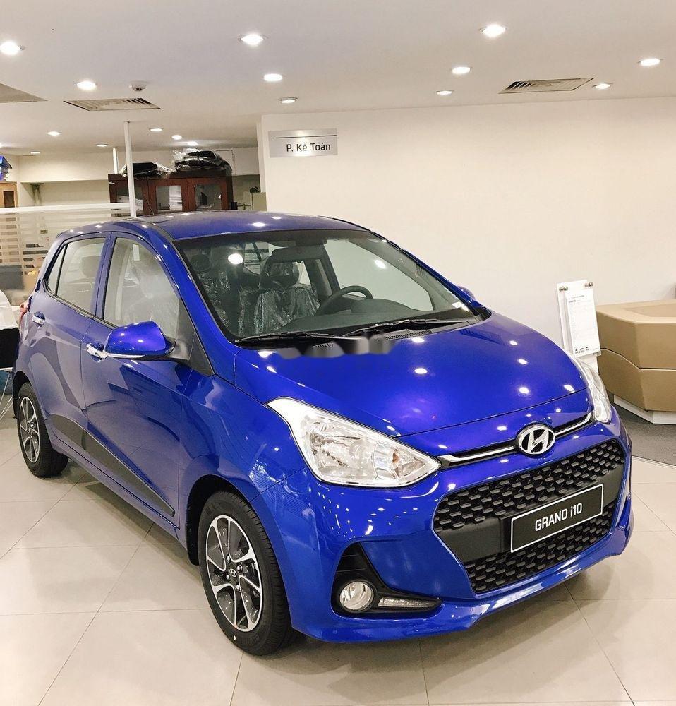 Bán Hyundai Grand i10 sản xuất năm 2019, màu xanh lam, 330 triệu (1)