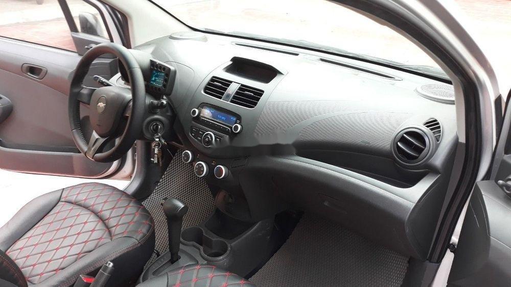 Bán Chevrolet Spark AT năm 2013, màu bạc, nhập khẩu số tự động, giá 172tr (4)