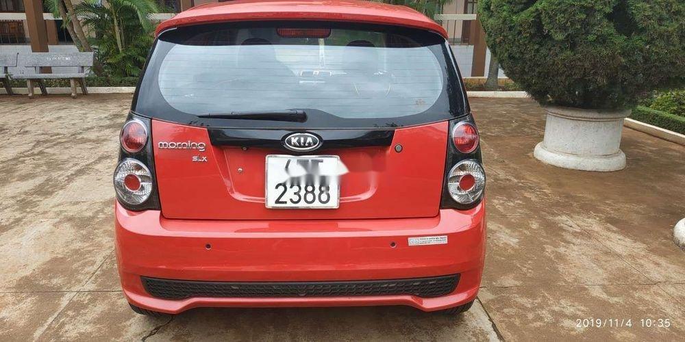 Cần bán gấp Kia Morning SLX năm sản xuất 2009, màu đỏ, xe nhập chính chủ, giá tốt (4)