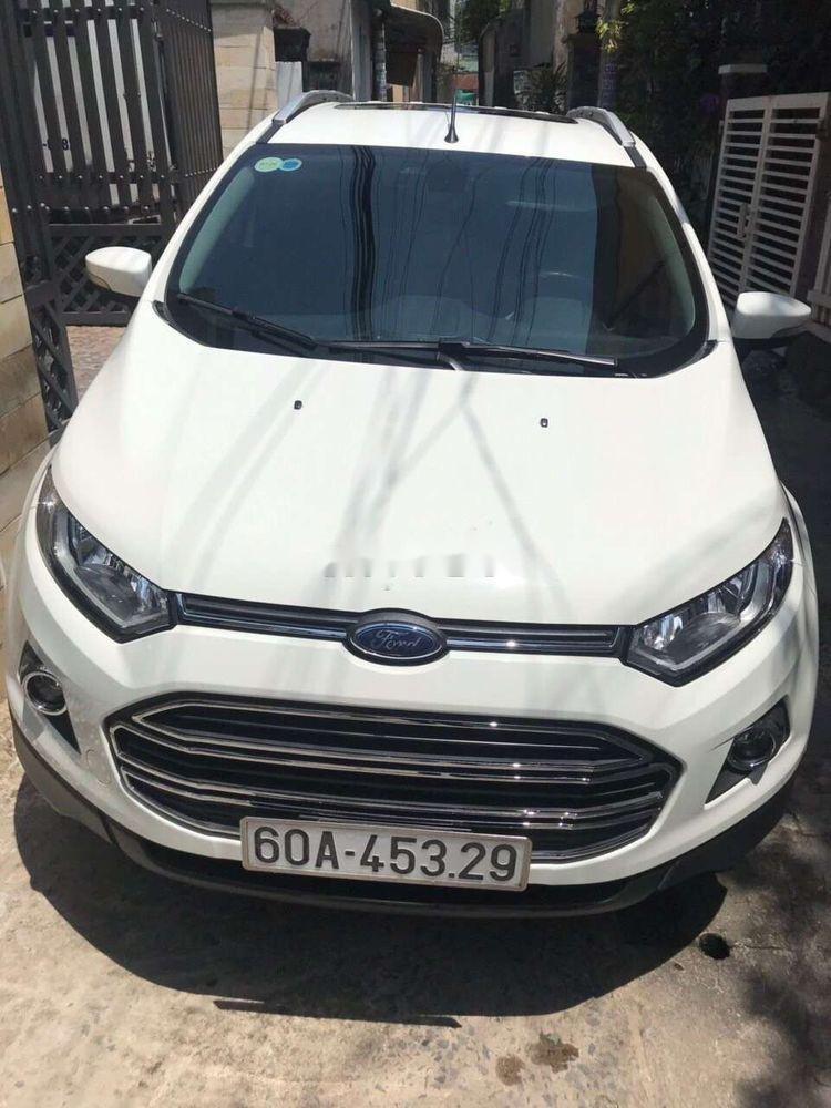Cần bán lại xe Ford EcoSport sản xuất năm 2018, màu trắng như mới, giá tốt (1)