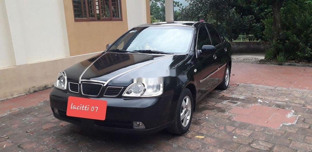Cần bán xe Daewoo Lacetti 2007, màu đen, giá tốt (1)