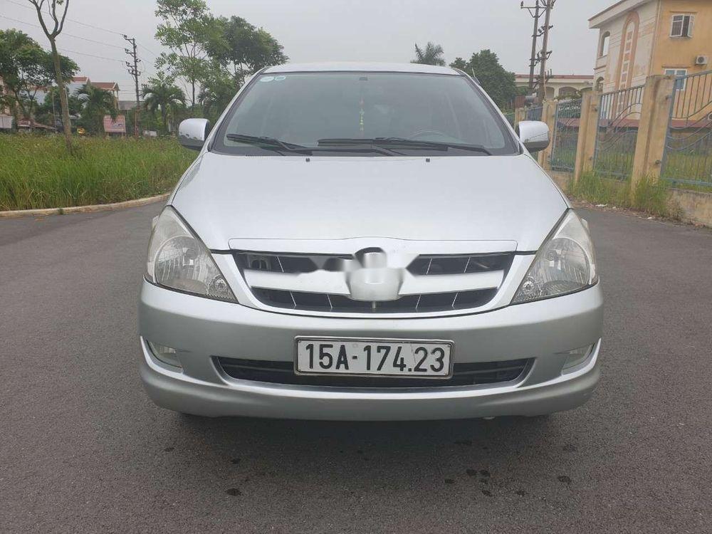 Cần bán gấp Toyota Innova đời 2007, màu bạc xe nguyên bản (5)