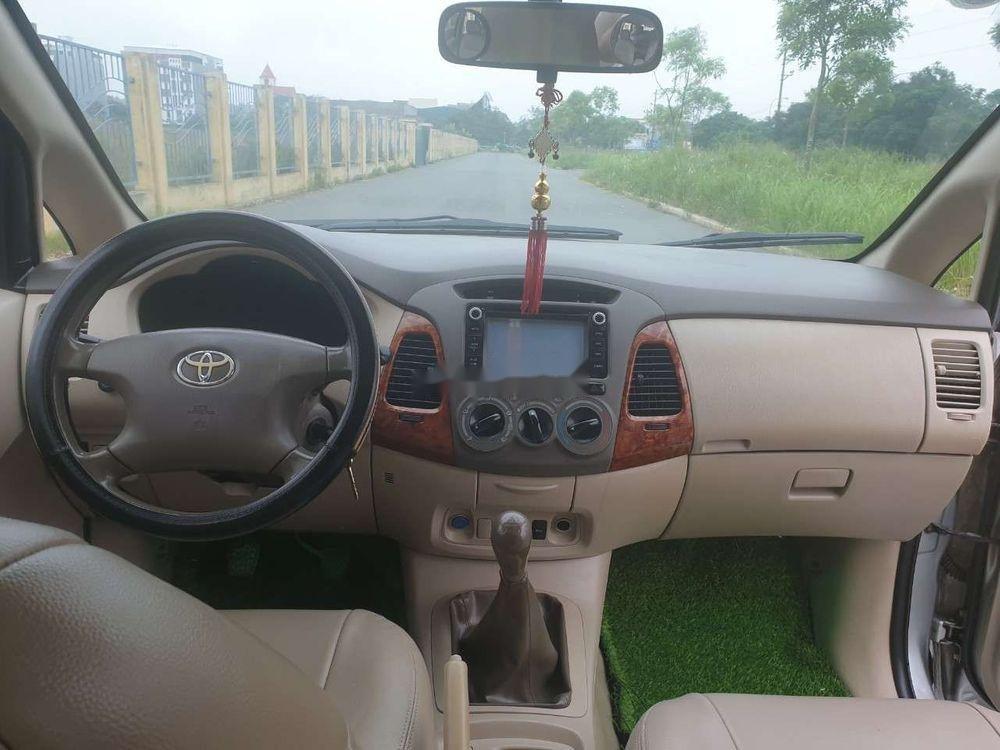 Cần bán gấp Toyota Innova đời 2007, màu bạc xe nguyên bản (9)