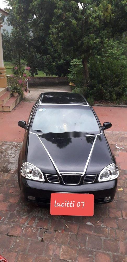 Cần bán xe Daewoo Lacetti 2007, màu đen, giá tốt (2)
