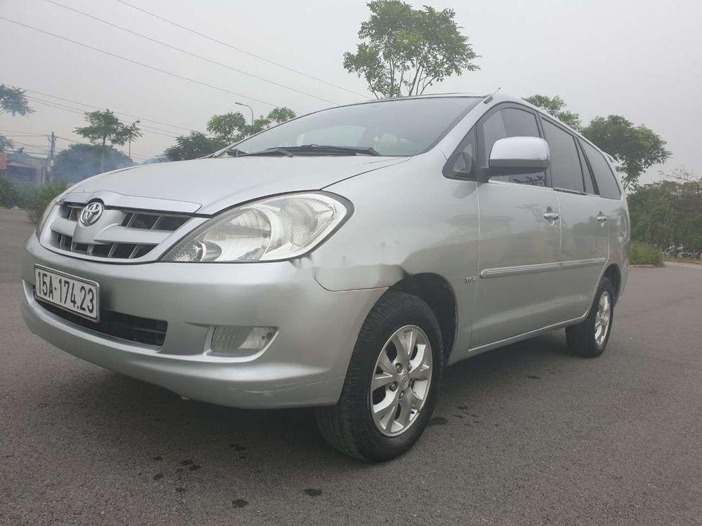 Cần bán gấp Toyota Innova đời 2007, màu bạc xe nguyên bản (6)