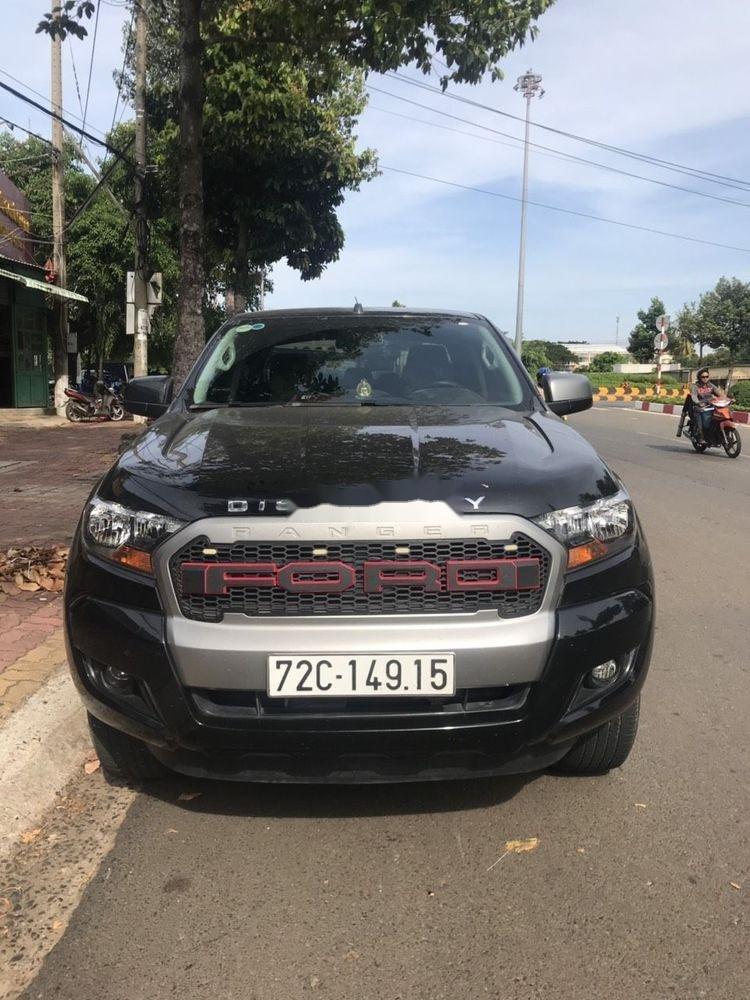 Bán xe Ford Ranger đời 2017, màu đen, xe nhập chính hãng (1)