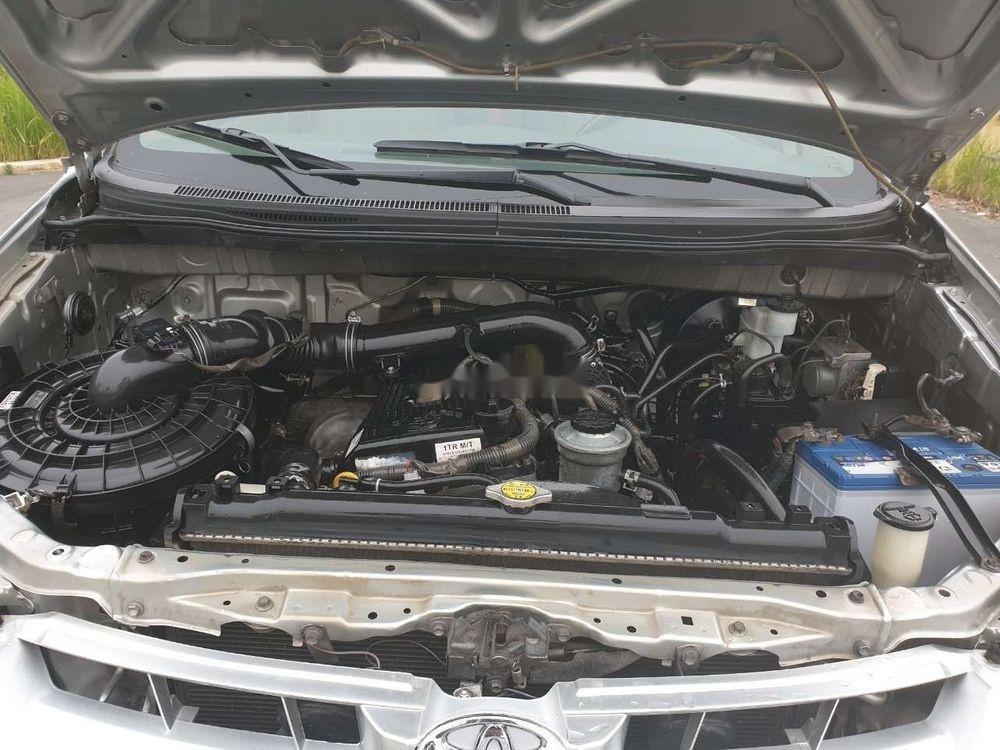 Cần bán gấp Toyota Innova đời 2007, màu bạc xe nguyên bản (4)