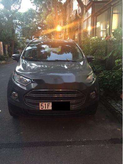 Bán Ford EcoSport 2015, màu bạc xe gia đình, giá tốt xe nguyên bản (5)