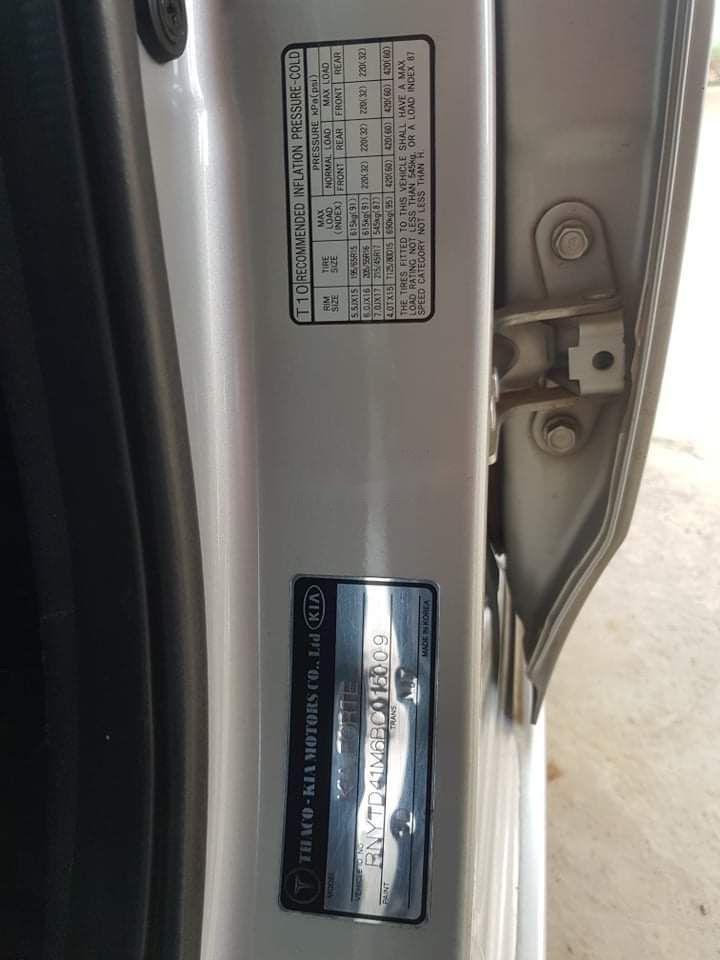 Bán xe Kia Forte đời 2011, màu bạc, xe nhập (6)