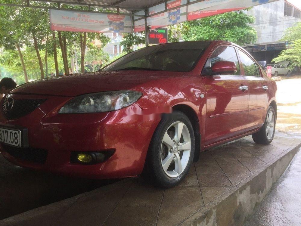 Bán xe Mazda 3 năm 2005, màu đỏ, nhập khẩu (2)