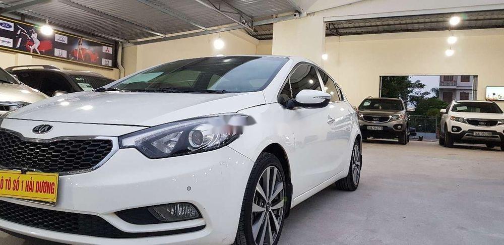 Bán Kia K3 đời 2013, màu trắng, nhập khẩu nguyên chiếc chính hãng (2)
