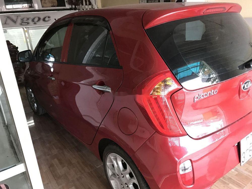Cần bán Kia Picanto sản xuất năm 2013, màu đỏ số tự động xe nguyên bản (8)