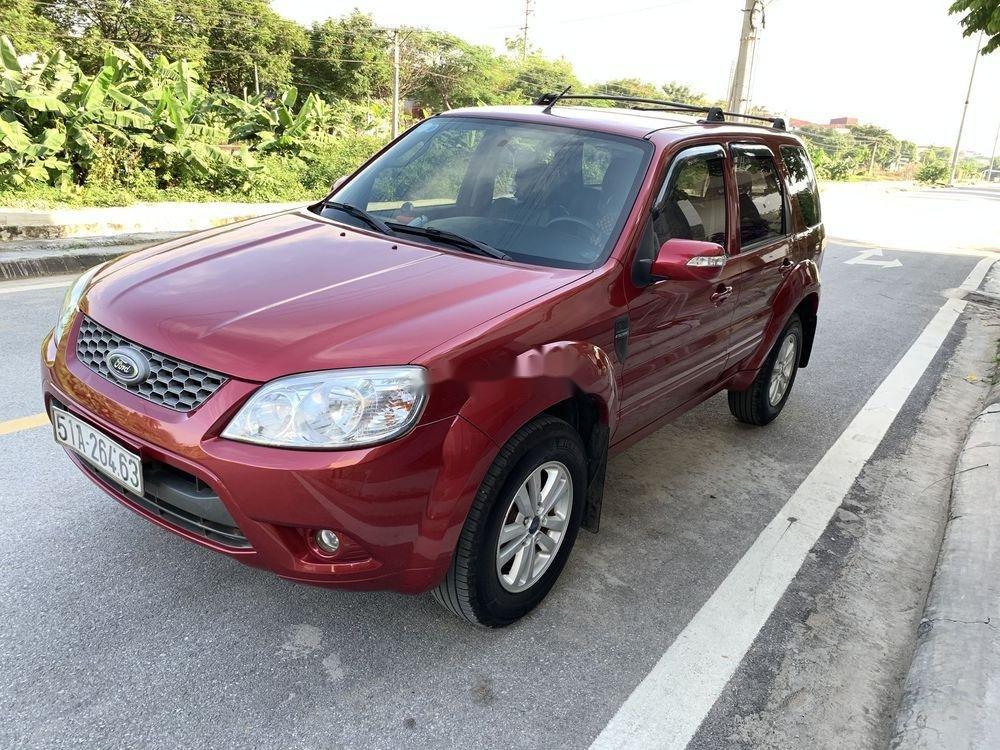Bán Ford Escape 2011, màu đỏ, nhập khẩu số tự động, giá tốt (2)