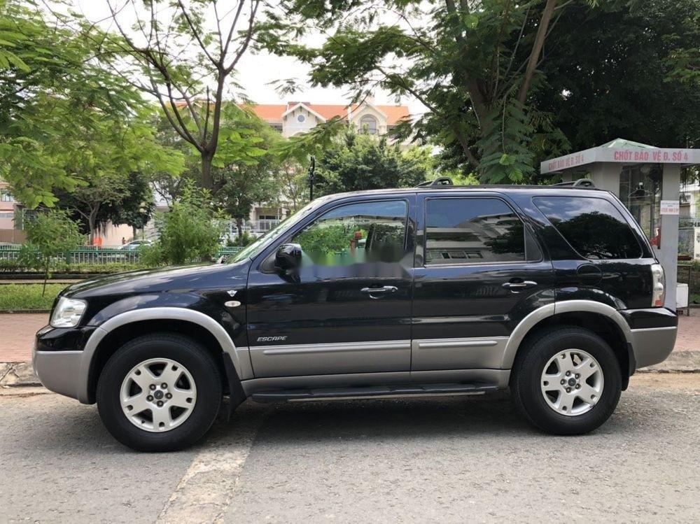 Cần bán gấp Ford Escape đời 2004, màu đen, giá tốt (10)