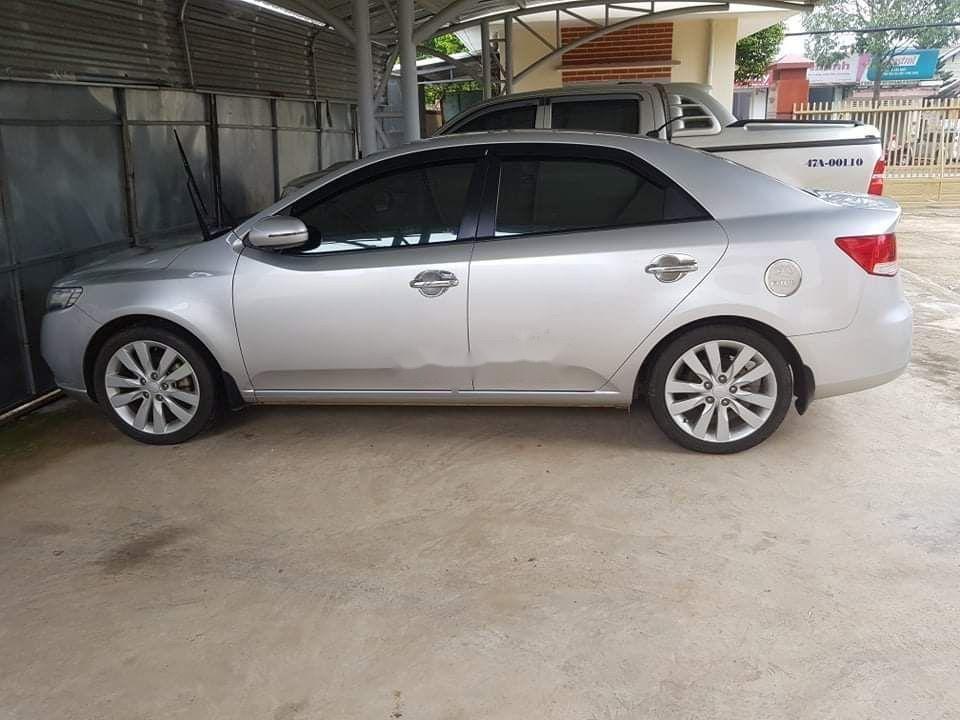 Bán xe Kia Forte đời 2011, màu bạc, xe nhập (1)