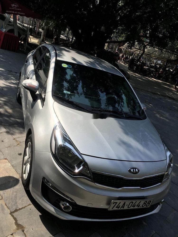 Bán ô tô Kia Rio 2015, màu bạc, nhập khẩu, giá chỉ 415 triệu (1)