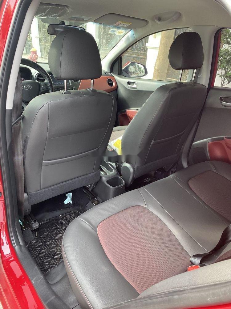 Bán Hyundai Grand i10 1.2 AT sản xuất năm 2019, màu đỏ (5)