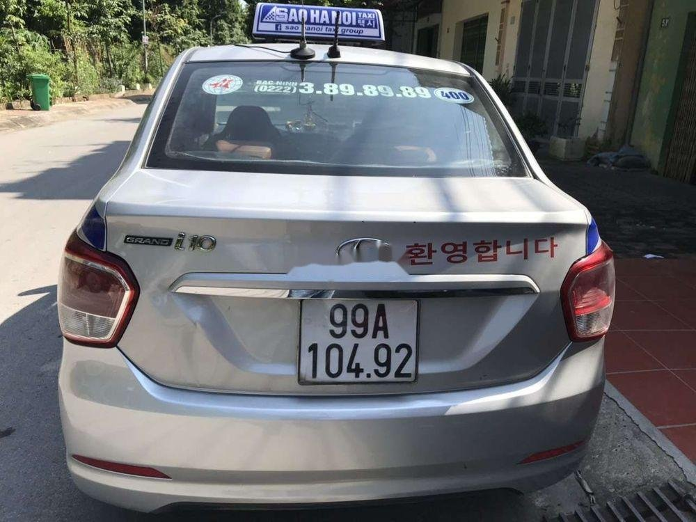 Xe Hyundai Grand i10 MT sản xuất 2016, màu bạc, nhập khẩu, 240tr (4)