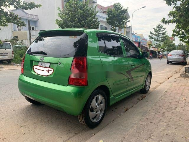Bán Kia Picanto AT năm 2007, màu xanh lam, xe nhập số tự động (4)