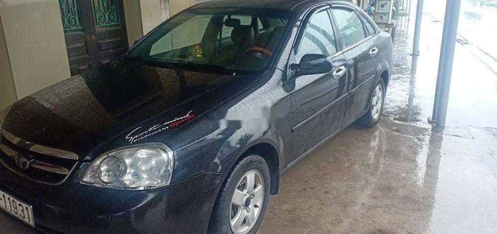 Cần bán xe Daewoo Lacetti sản xuất 2009, màu đen xe nguyên bản (2)