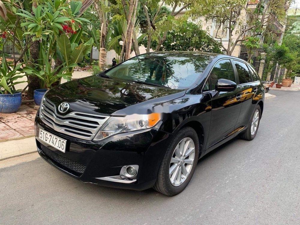Cần bán lại xe Toyota Venza sản xuất năm 2009, màu đen chính chủ (2)