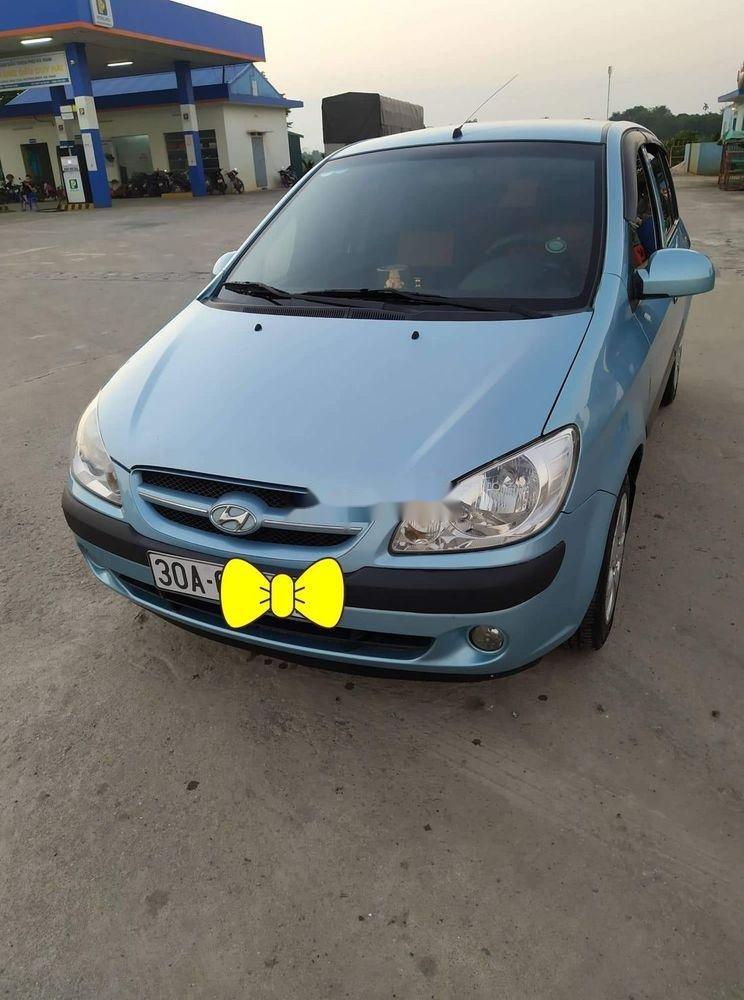 Chính chủ bán Hyundai Getz đời 2008, màu xanh lam, nhập khẩu  (1)