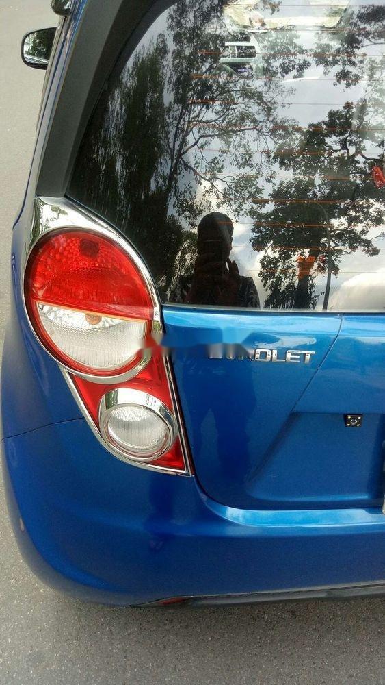 Bán Chevrolet Spark năm 2015, màu xanh lam, nhập khẩu chính chủ, giá tốt (9)