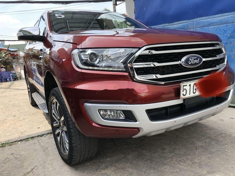Bán Ford Everest sản xuất 2018, màu đỏ, nhập khẩu nguyên chiếc (1)