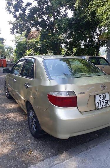 Cần bán lại xe cũ Toyota Vios sản xuất 2005, màu vàng (3)