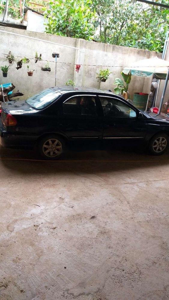 Bán Kia Spectra 2004, màu đen, nhập khẩu, giá tốt (4)