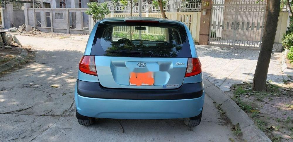 Bán Hyundai Getz năm sản xuất 2009, màu xanh lam, nhập khẩu chính hãng (2)