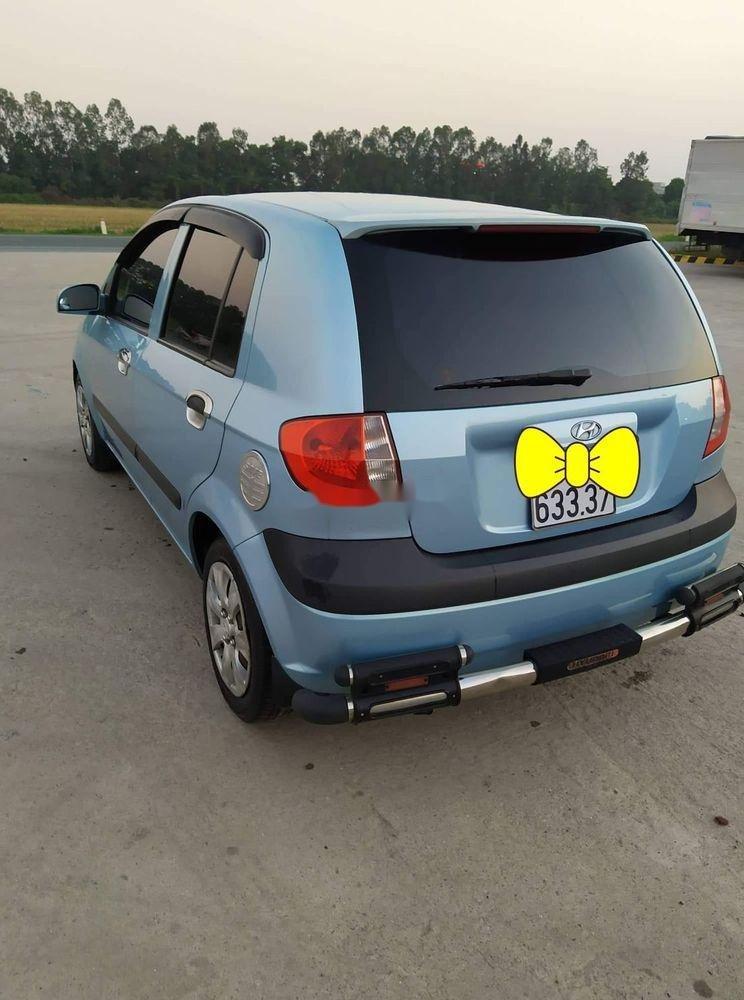 Chính chủ bán Hyundai Getz đời 2008, màu xanh lam, nhập khẩu  (2)