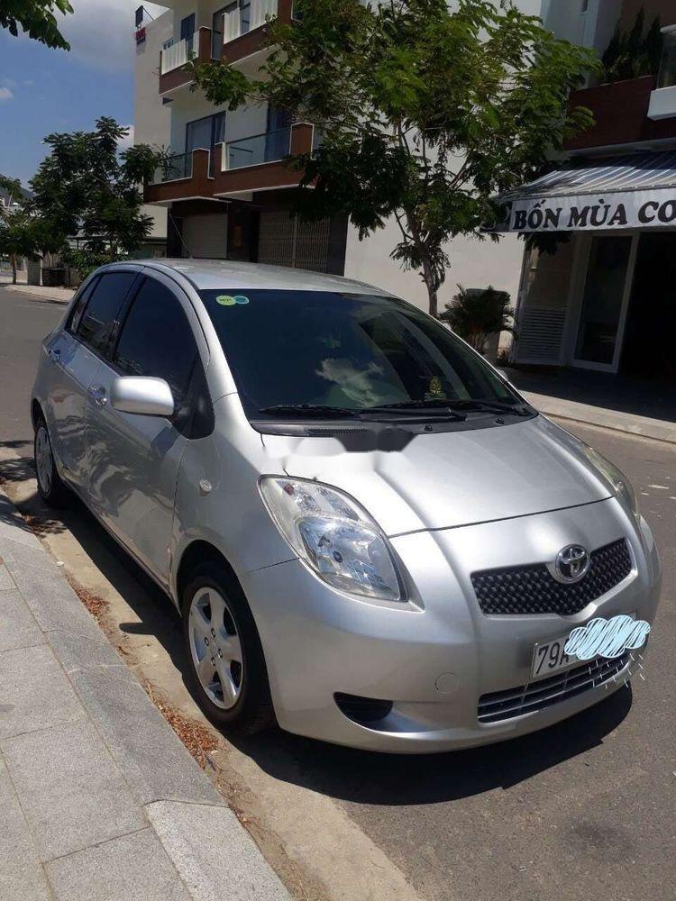 Bán Toyota Yaris AT sản xuất 2007, màu bạc, xe nhập (1)