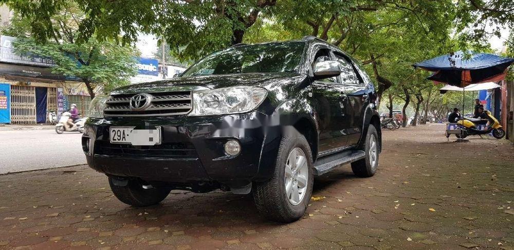 Cần bán xe Toyota Fortuner sản xuất năm 2011, màu đen số sàn (4)