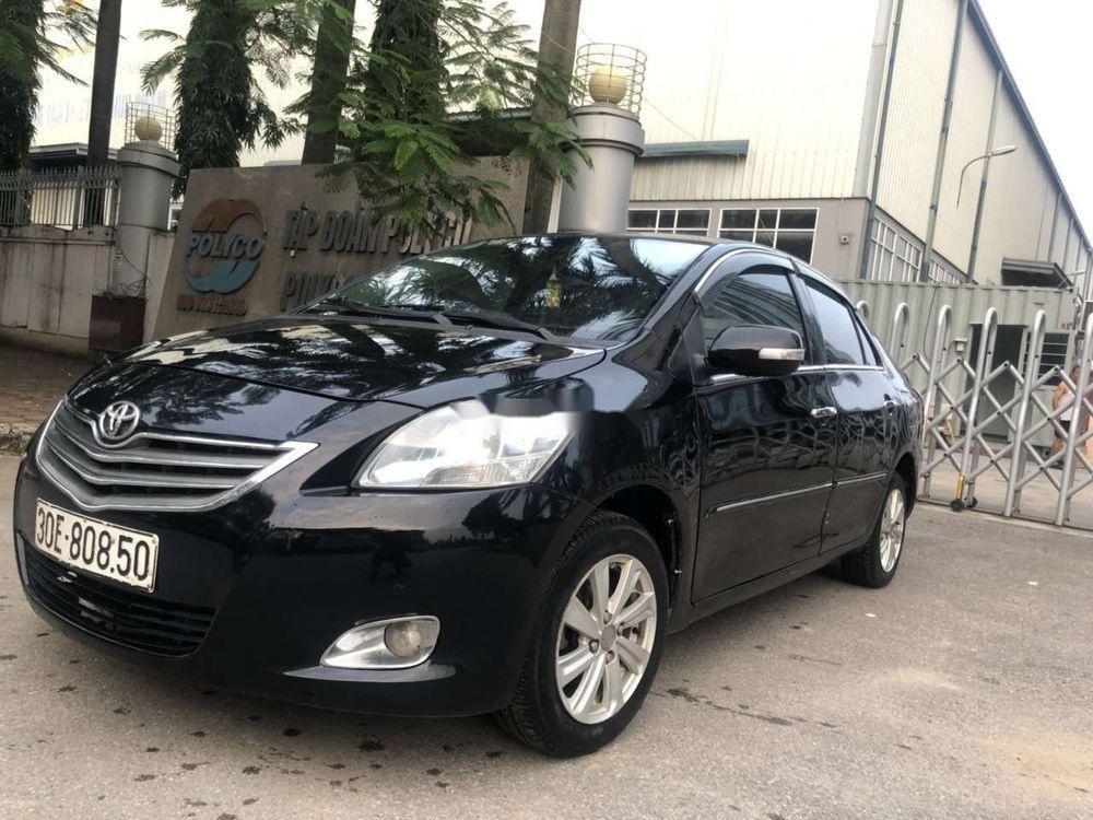 Cần bán gấp Toyota Vios năm sản xuất 2010, màu đen xe nguyên bản (1)