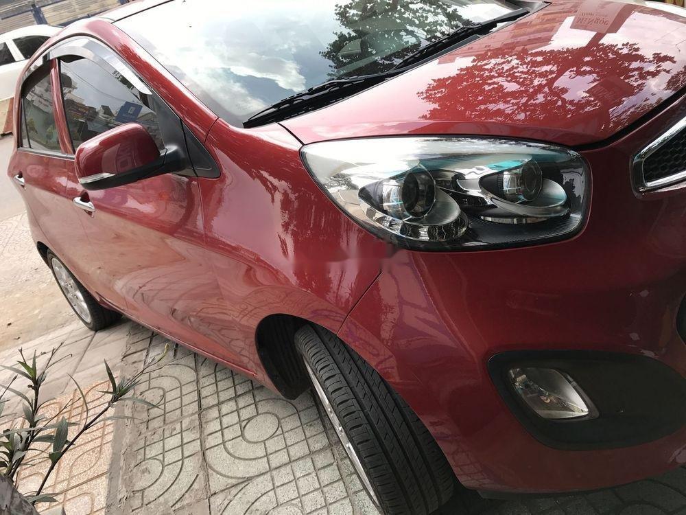 Cần bán Kia Picanto sản xuất năm 2013, màu đỏ số tự động xe nguyên bản (9)