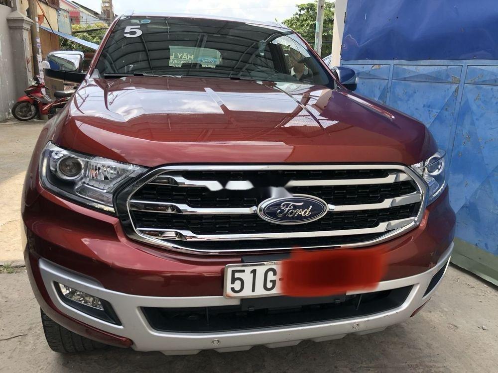 Bán Ford Everest sản xuất 2018, màu đỏ, nhập khẩu nguyên chiếc (2)