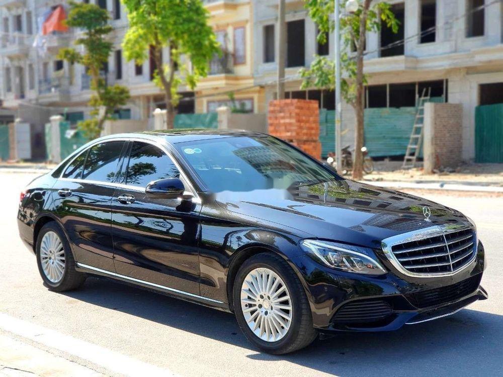 Bán Mercedes năm sản xuất 2016, màu đen xe nguyên bản (1)