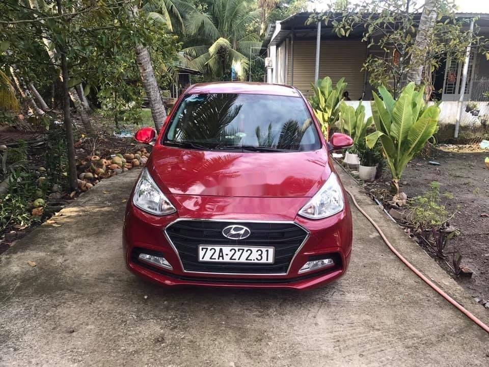 Bán ô tô Hyundai Grand i10 sản xuất năm 2018, màu đỏ, xe nhập chính hãng (2)