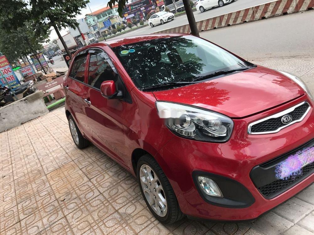 Cần bán Kia Picanto sản xuất năm 2013, màu đỏ số tự động xe nguyên bản (1)
