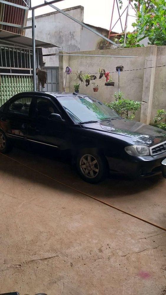 Bán Kia Spectra 2004, màu đen, nhập khẩu, giá tốt (1)