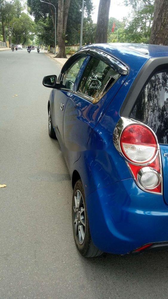 Bán Chevrolet Spark năm 2015, màu xanh lam, nhập khẩu chính chủ, giá tốt (6)