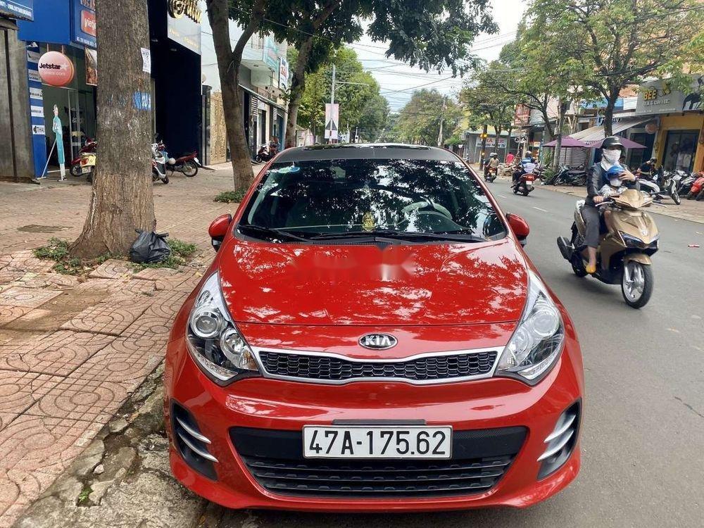 Xe Kia Rio đời 2015, màu đỏ, nhập khẩu nguyên chiếc  (2)