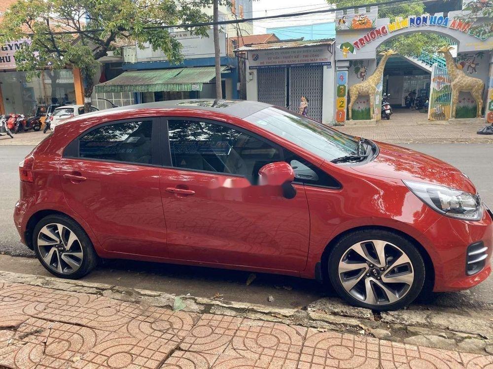 Xe Kia Rio đời 2015, màu đỏ, nhập khẩu nguyên chiếc  (1)