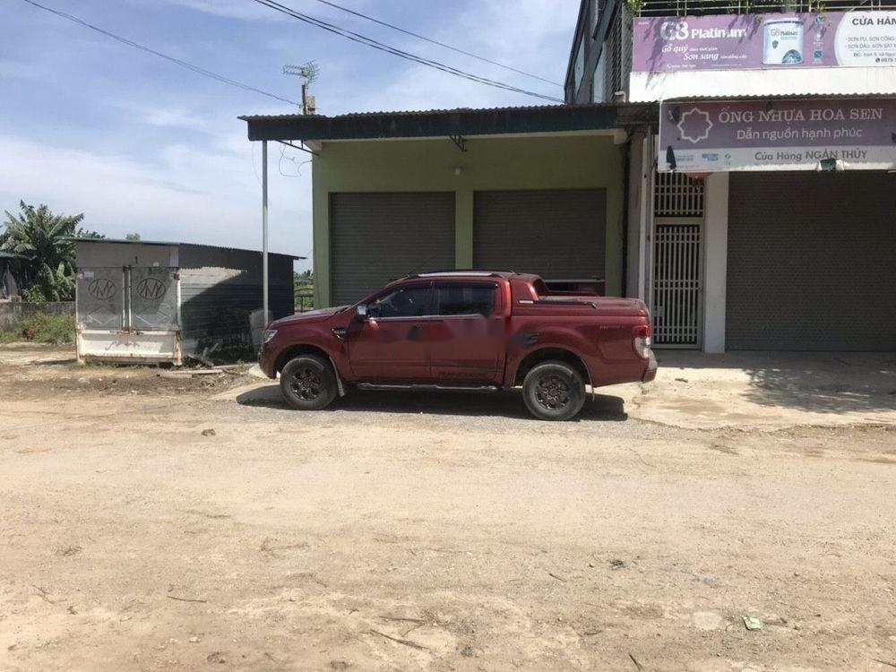 Cần bán lại xe Ford Ranger đời 2015, màu đỏ, nhập khẩu (5)