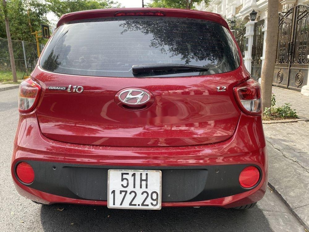 Bán Hyundai Grand i10 1.2 AT sản xuất năm 2019, màu đỏ (4)
