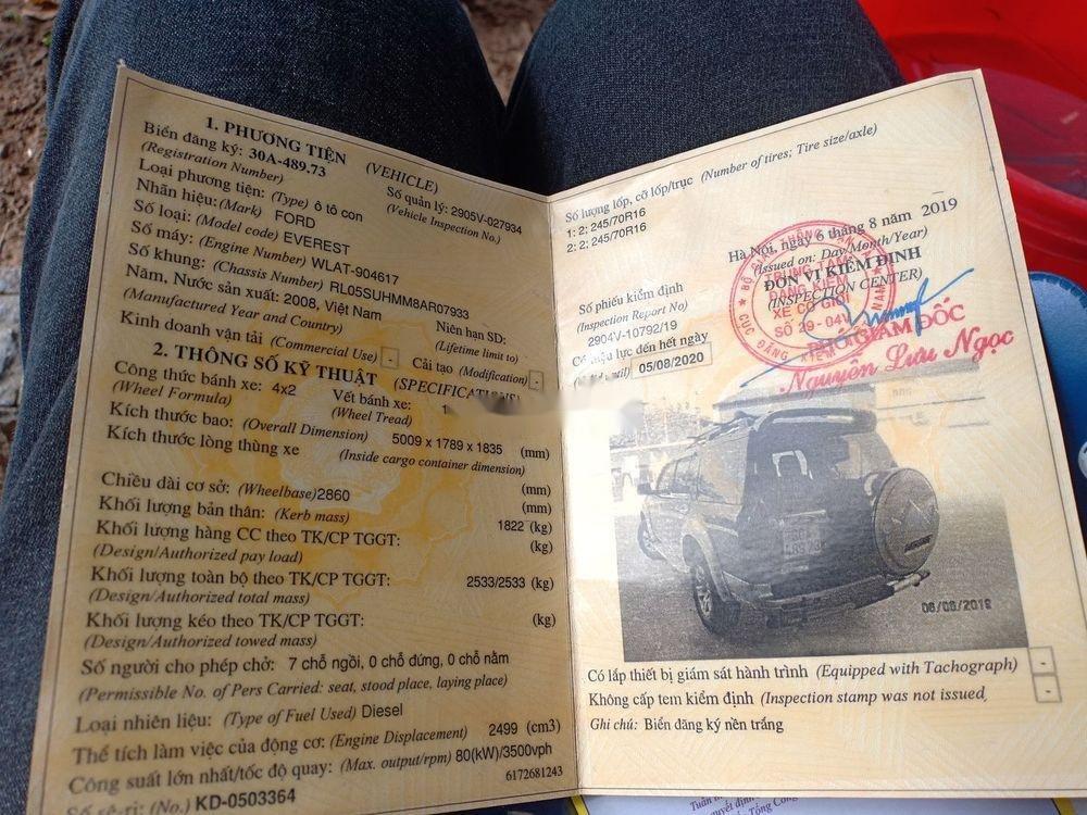 Cần bán lại xe Ford Everest đời 2008, màu đen (4)