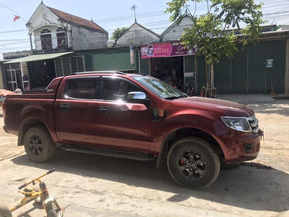 Cần bán lại xe Ford Ranger đời 2015, màu đỏ, nhập khẩu (4)