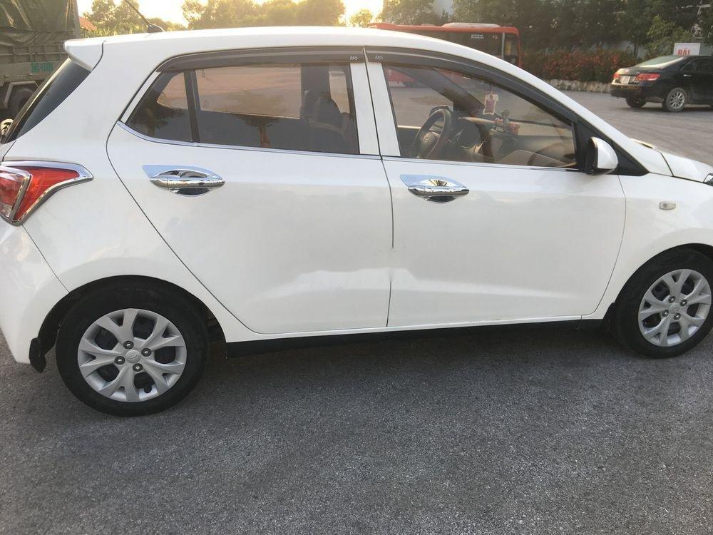 Bán ô tô Hyundai Grand i10 đời 2014, màu trắng, giá tốt (7)