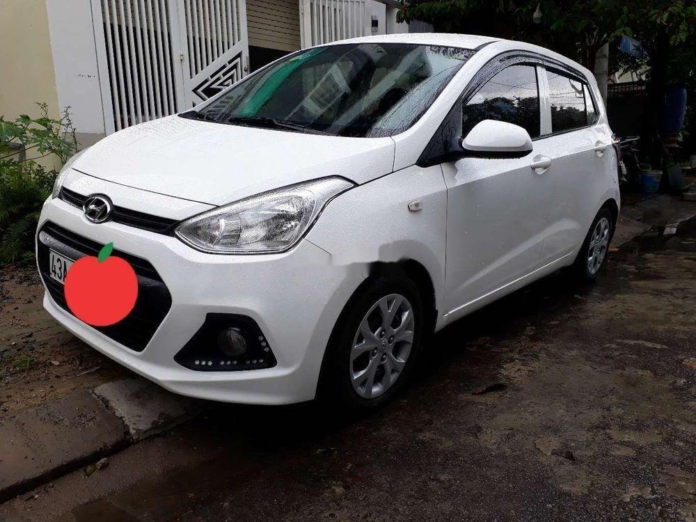Cần bán lại xe Hyundai Grand i10 đời 2014, màu trắng, xe nhập xe gia đình, giá tốt (11)